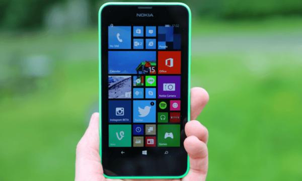 Nokia Lumia 630 Tre