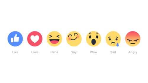 Reactions di Facebook: gli utenti le usano?