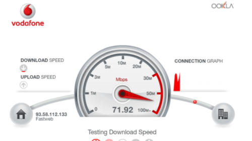 Speed Test Fibra Vodafone: Verifica la velocità internet