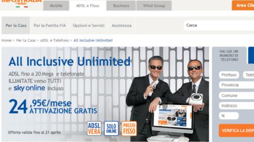Wind: offerte ADSL per casa e mobile