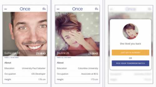 Once: la nuova app di dating arriva in Italia