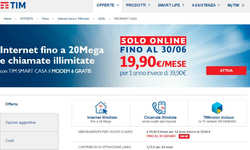 Offerte ADSL Tim: Promozioni In Scadenza - Komparatore.it