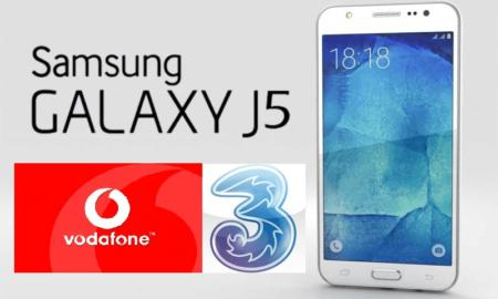 Tariffe Sim con Smartphone Incluso Samsung Galaxy J5 Komparatore