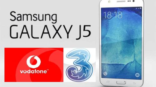 Tariffe Sim con Smartphone Incluso: Samsung Galaxy J5