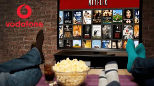 Come vincere un abbonamento Netflix con Vodafone