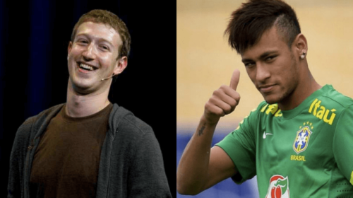 Facebook: Zuckerberg sfida Neymar a Calcio (VIDEO)