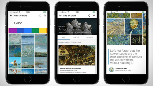 Google Arts & Culture, la nuova App di Google