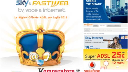Le migliori offerte ADSL di luglio 2016