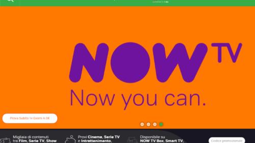 Now Tv, la Nuova Internet Tv di Sky