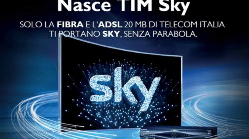 Tim Smart Casa e Sky Tv: Chiamate, Internet e Sky