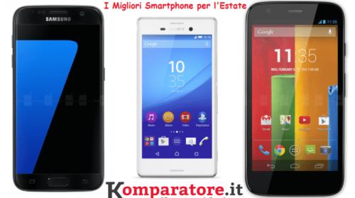 I Migliori Smartphone Per l'Estate