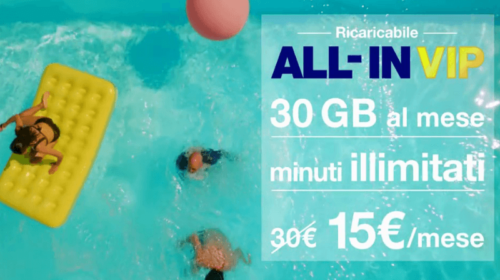 Offerta H3G All in Vip con Smartphone Incluso