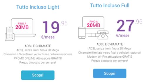 Tiscali ADSL: Offerte Tutto Incluso in Promozione