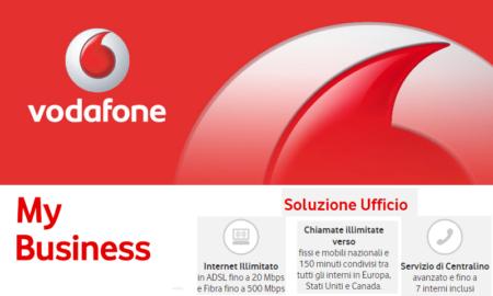 Vodafone Business ADSL o Fibra con Soluzione Ufficio