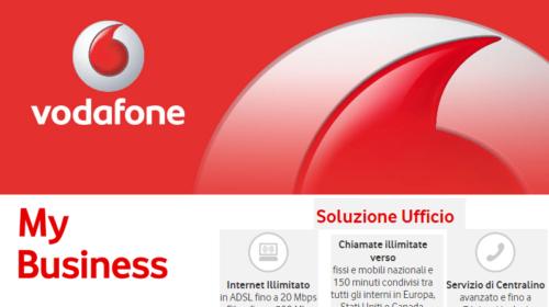 Vodafone Business: ADSL o Fibra con Soluzione Ufficio