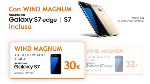 Samsung Galaxy S7 a soli 30€ con Wind