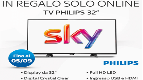 Abbonamento Sky: Tv Full HD in Regalo