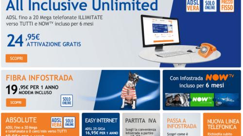 Infostrada ADSL: Offerte con Internet e Chiamate