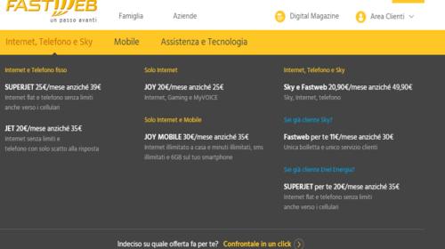 Promozioni Fastweb: Offerte Internet e Telefono