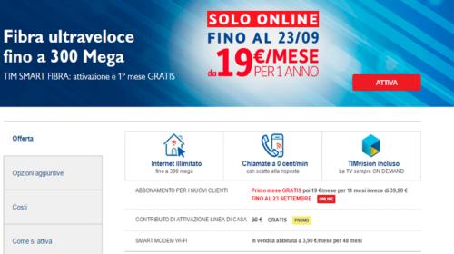 Fibra Ottica TIM: Offerte Telecom Fibra e Copertura Banda Ultra Larga