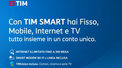 Offerte TIM Smart: Chiamate ed Internet a 19€ e Primo Mese Gratis