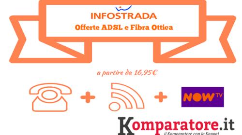 Offerte Wind Infostrada: ADSL e Fibra Ottica a Partire da 16,95€