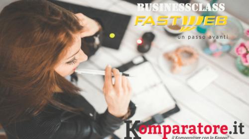 Fastweb BusinessClass: ADSL Partita IVA o Fibra Ottica e Chiamate a 35€