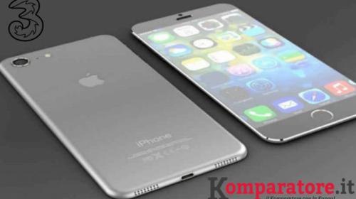 Offerte Tre iPhone 7: rate a partire da 15€
