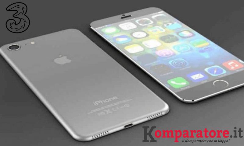 Offerte Tre iPhone 7: rate a partire da 15€ - Komparatore.it