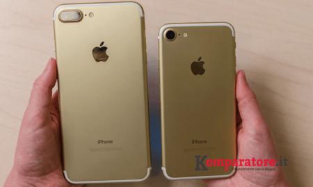 Iphone 7 e Iphone 7 Plus Tutte le Offerte con Abbonamento