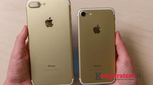 Iphone 7 e Iphone 7 Plus: Tutte le Offerte con Abbonamento