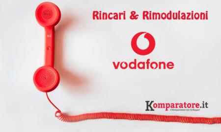 Vodafone Rincari a Partire dal 20 Novembre