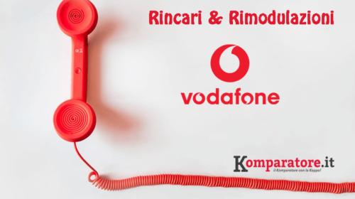 Offerte Vodafone: Rincari a Partire dal 20 Novembre