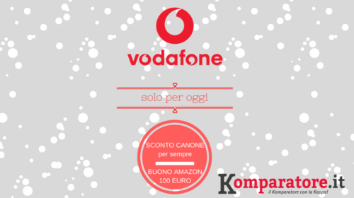 Buono Amazon di 100€ in Regalo con Vodafone