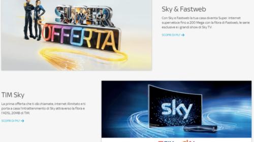 Come Abbonarsi a Sky con TIM e Fastweb: Offerte e Promozioni