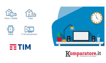 Offerte TIM ADSL, Fibra Ottica e Mobile