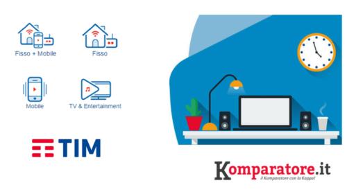 Offerte TIM: ADSL, Fibra Ottica e Mobile