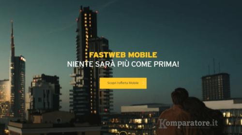 Fastweb Mobile: Presentate Le Nuove Offerte a Partire da 0,95€