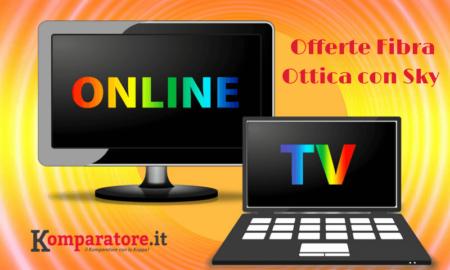Offerte Fibra Ottica con Sky Tv