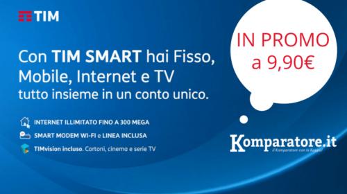 Offerte TIM Casa: Chiamate ed Internet con ADSL e Fibra Ottica a 9,90€