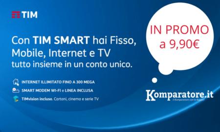 Offerte TIM Casa Chiamate ed Internet con ADSL e Fibra Ottica a 9,90€