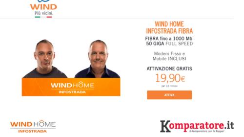Promozioni Wind Infostrada: Nuove Offerte ADSL e Fibra