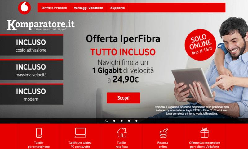 Offerte Fibra Vodafone Casa: ADSL, Fibra e Telefono [2020]